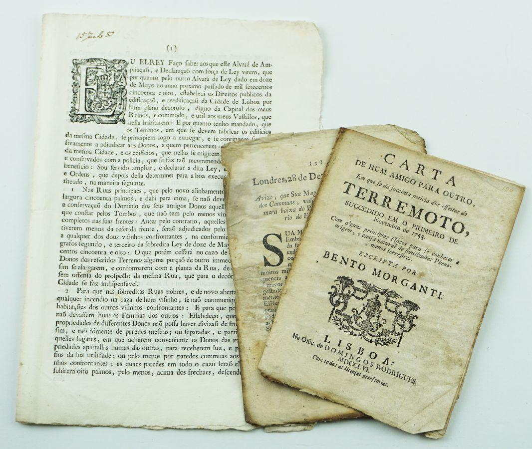 Terramoto Lisboa 1755 e reconstrução da cidade
