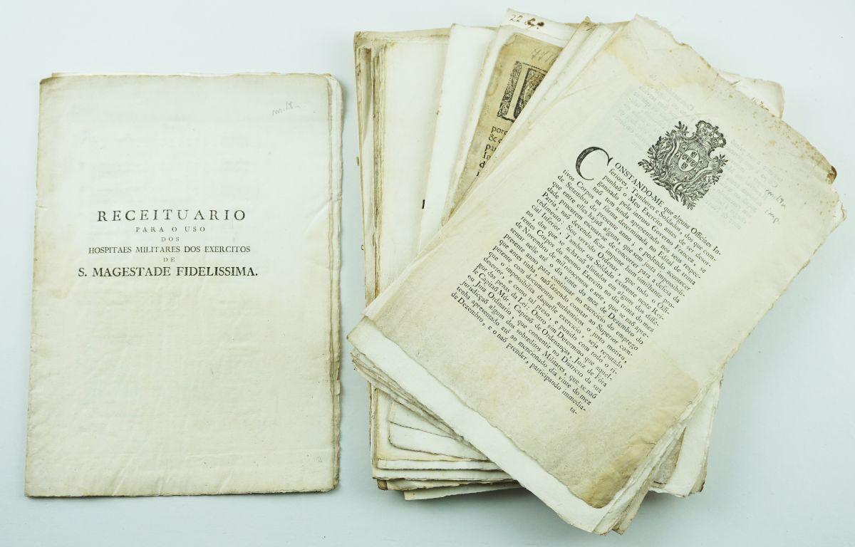 Documentos militares Portugueses séc. XVIII