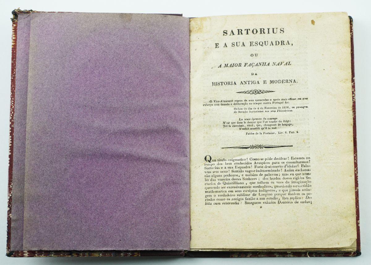 Colecção da publicação periódicas miguelista Sartorius e a sua Esquadra (1832)
