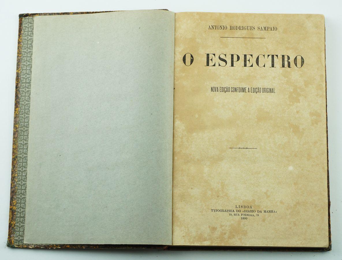 O Espectro -2ª edição – Colecção completa (1880)