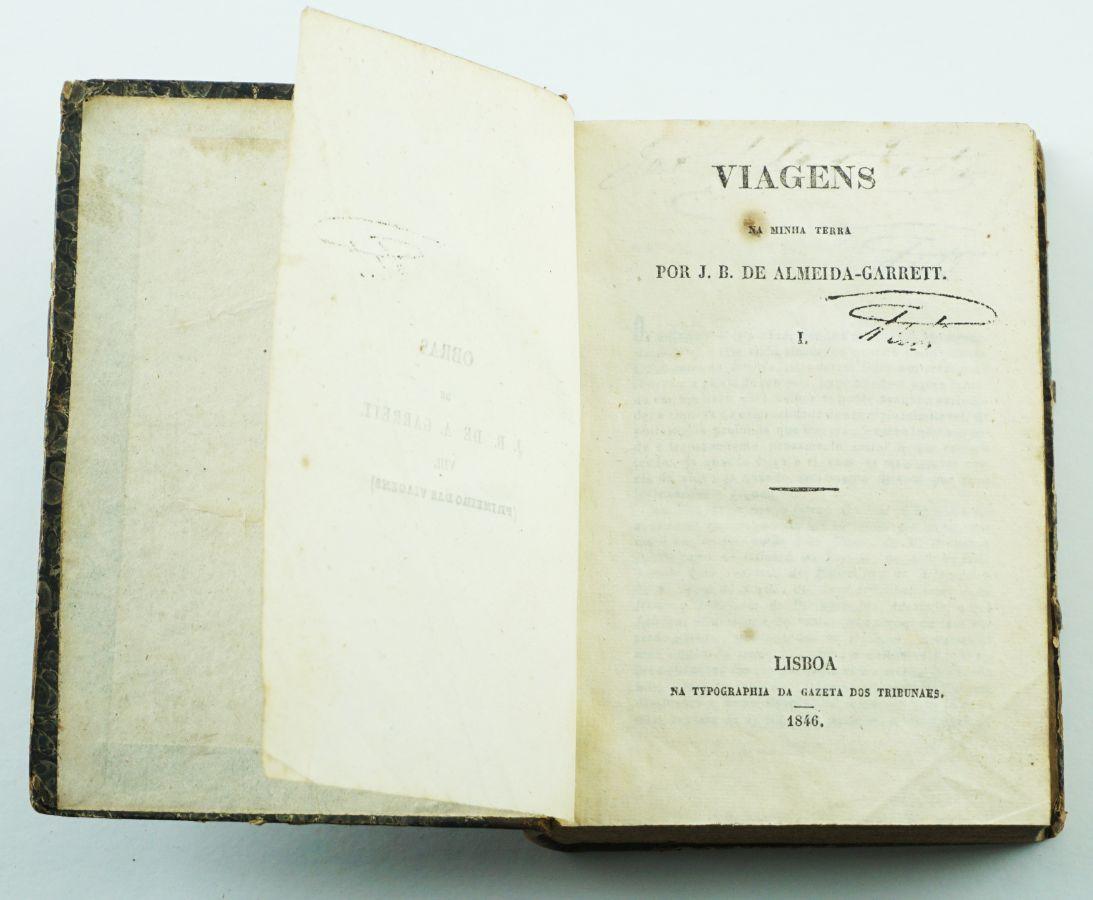 Almeida Garrett 1ª edição