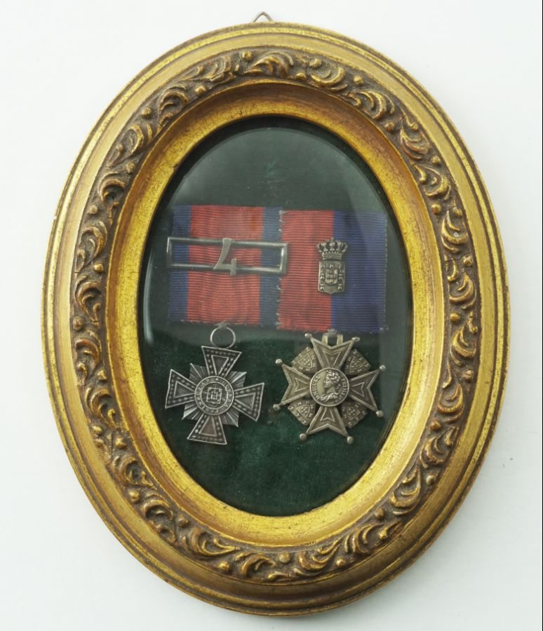 Par de Medalhas Miguelistas
