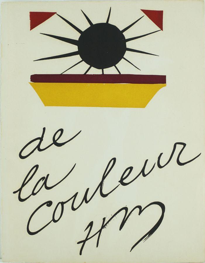 Henri Matisse – De la Couleur
