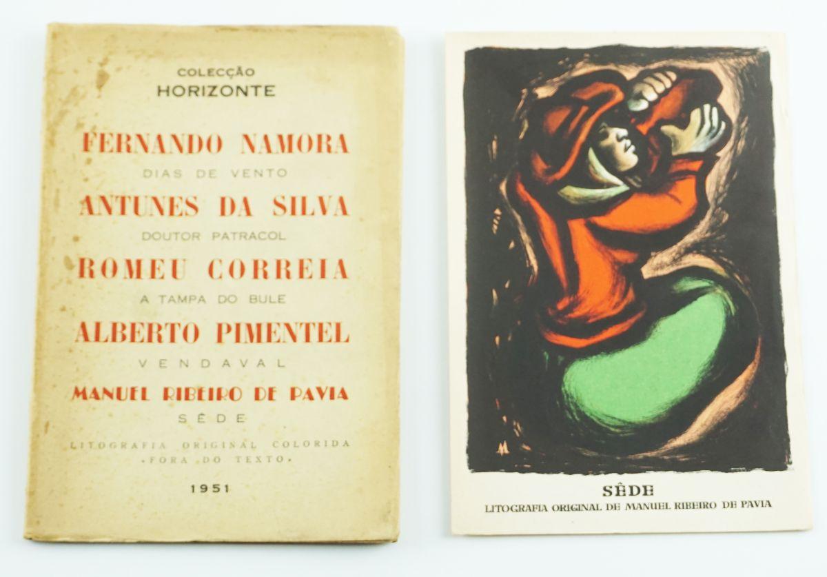 Colecção Horizonte - com Litografia da Pavia