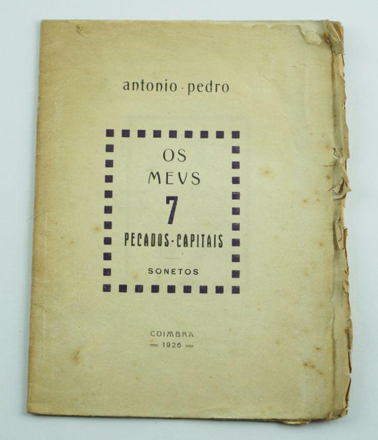 António Pedro - Primeiro livro do autor