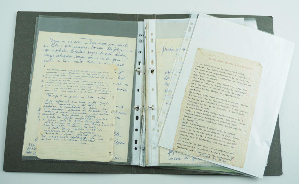 Casimiro de Brito – Manuscritos – edições únicas