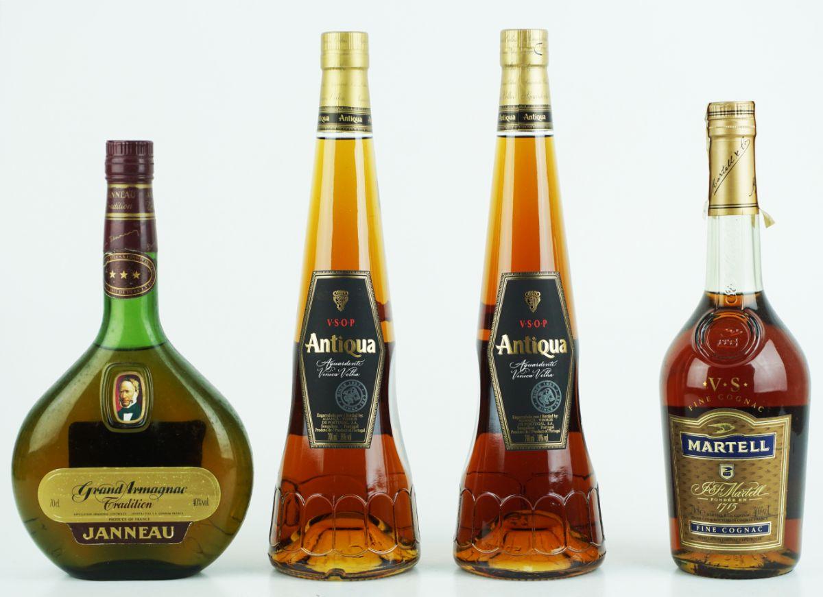6 Garrafas de Álcool