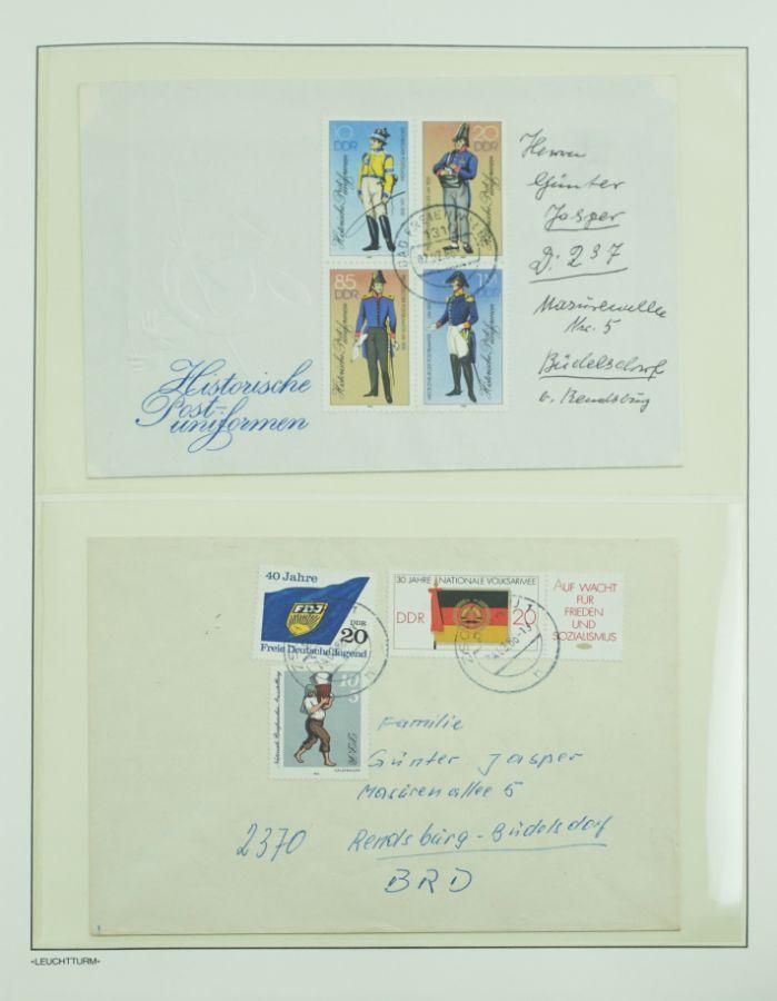 Filatelia Alemanha Democrática (DDR)