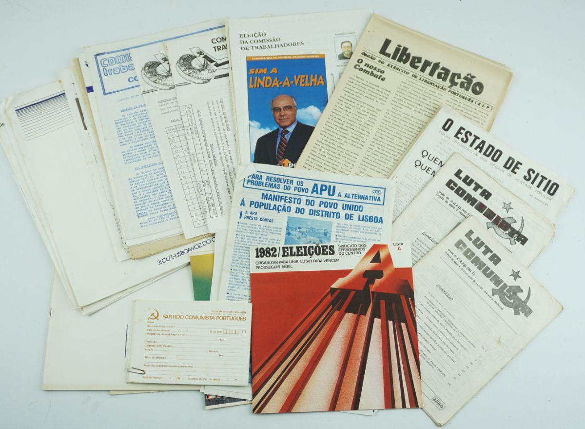 Propaganda e publicações Politicas