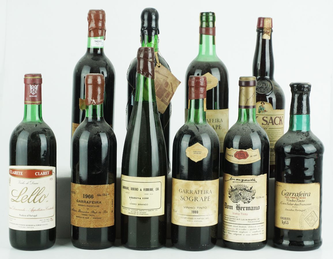 10 Garrafas de Vinho