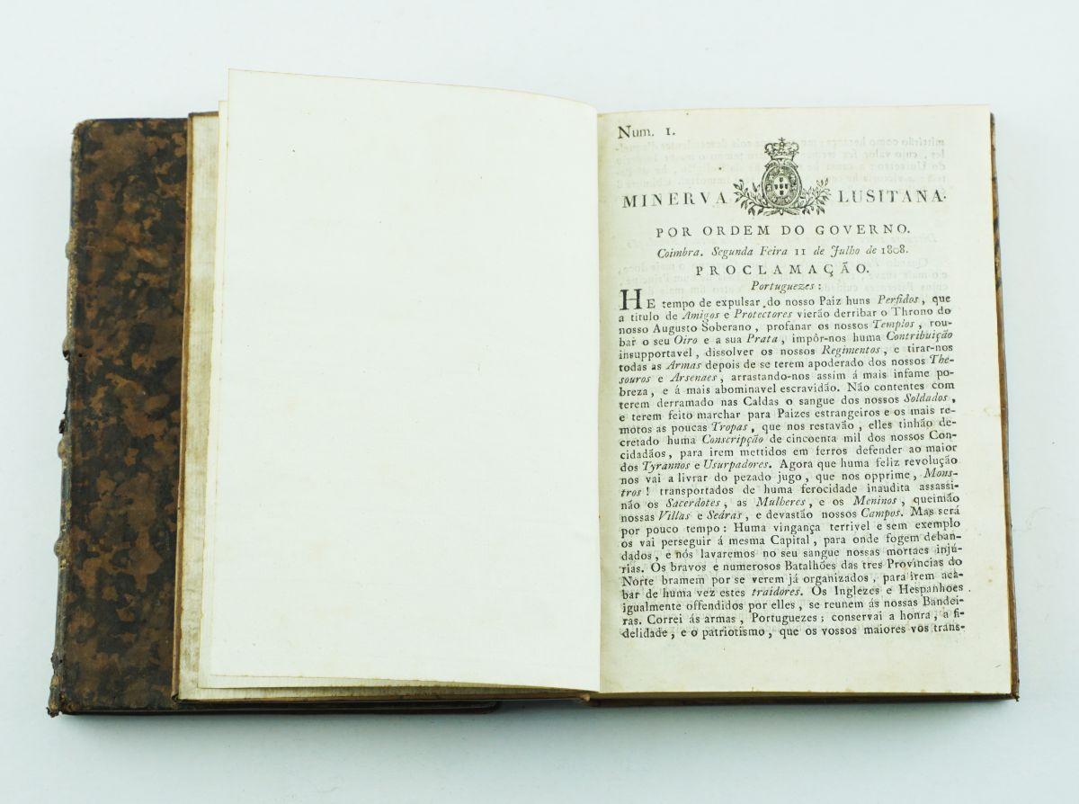 Invasões Francesas – Minerva Lusitana, o 1º jornal de Coimbra (1808)