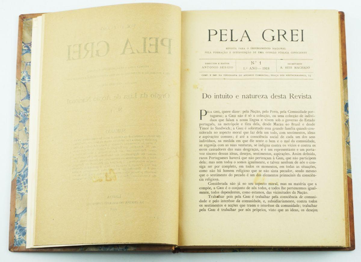 Pela Grei Revista para o Ressurgimento Nacional (1918-1919)