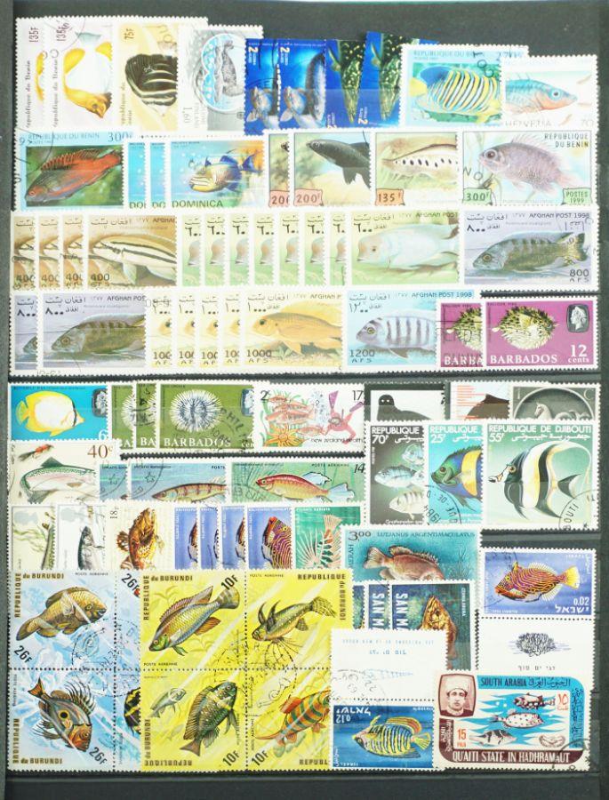 Filatelia Peixes e Crustáceos
