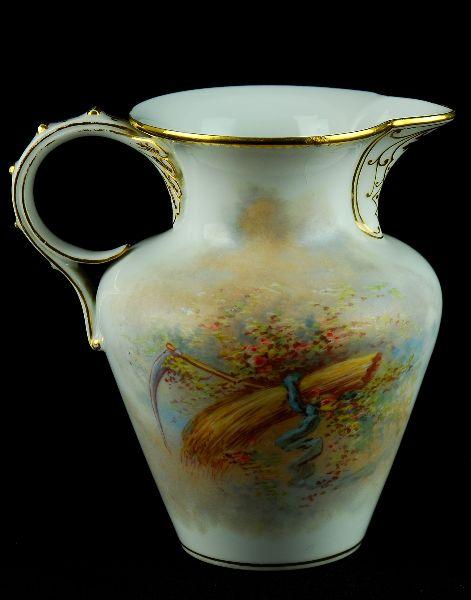 Leiteira em Porcelana