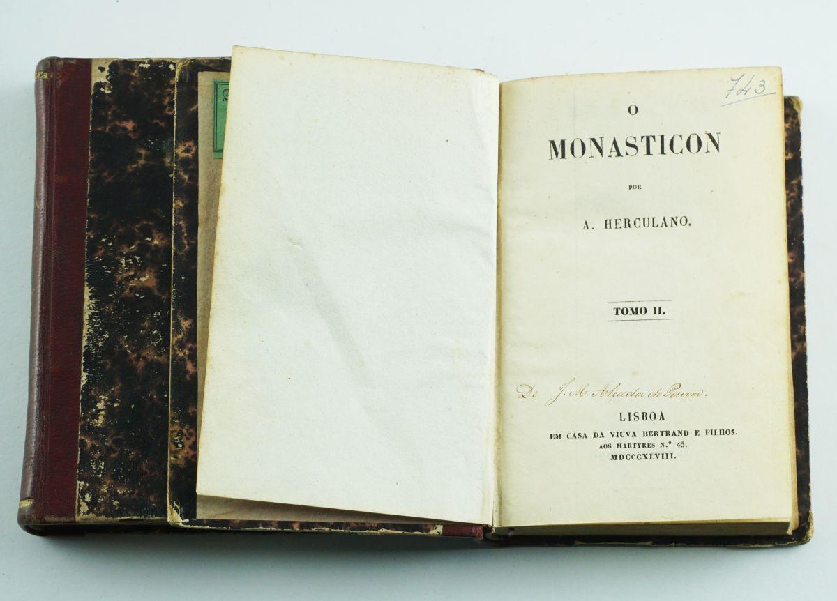 Alexandre Herculano – 1ª edição