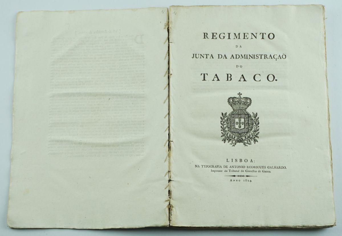 Documentação Tabaco – Oriente, Africa e Brazil (Peça de Colecção)