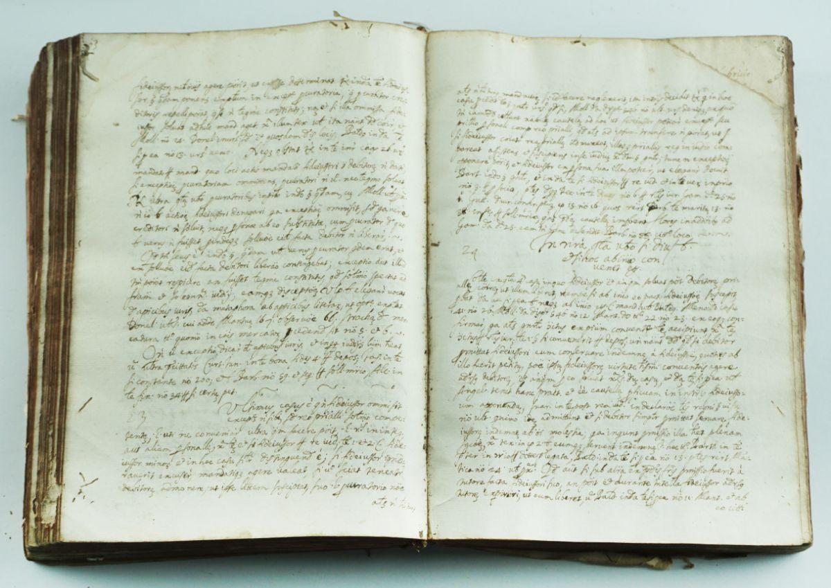 Manuscrito Séc. XVII