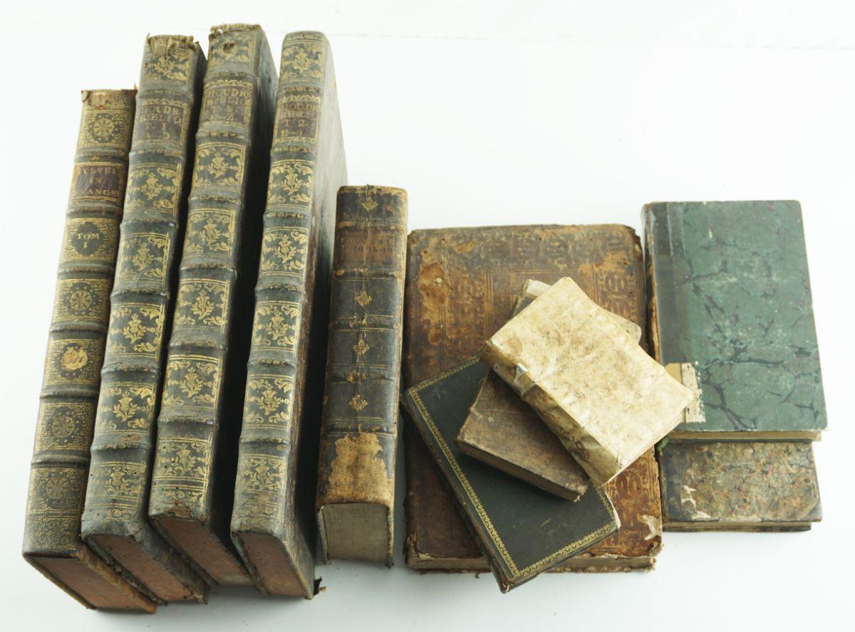 Livros Séc. XVII, XVIII, XIX
