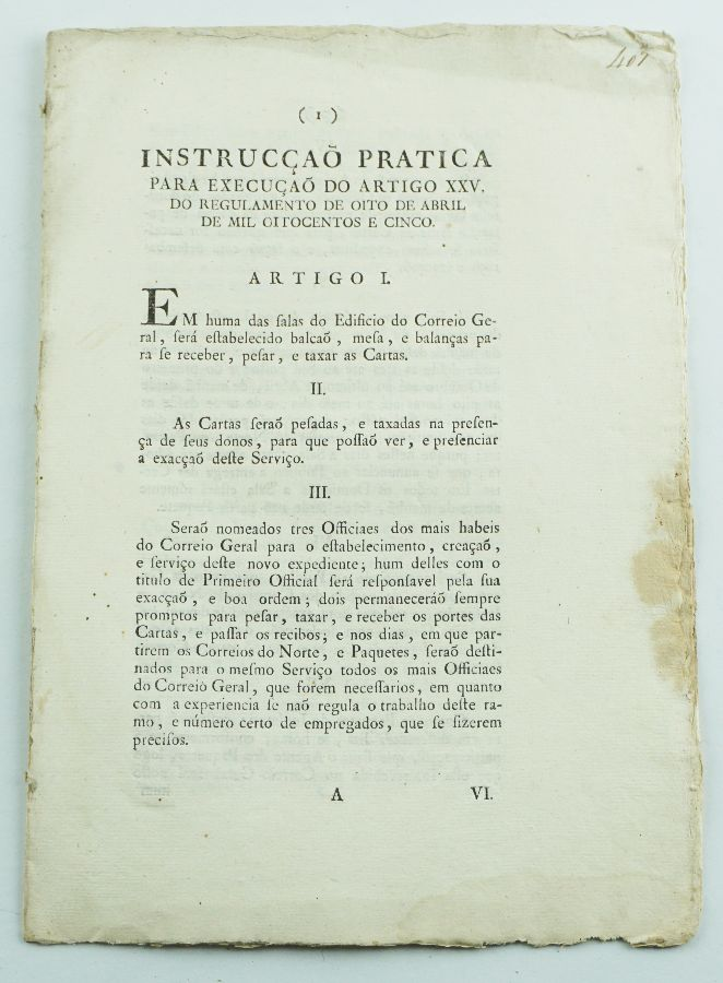 Serviço Postal Português / Pré Filatelia