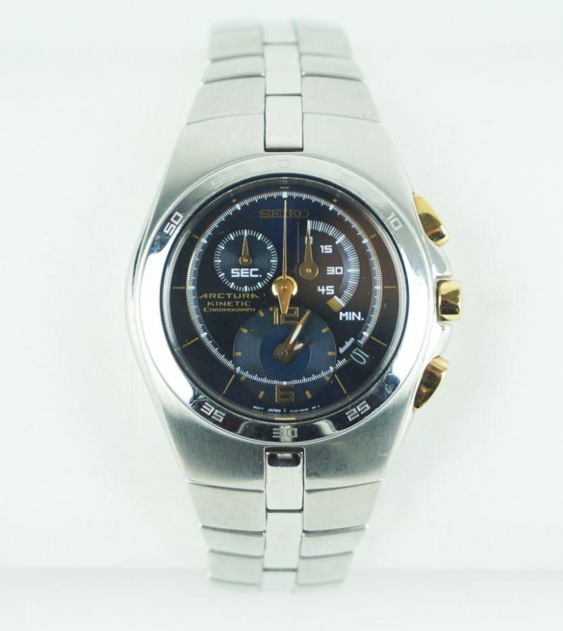 Seiko Arctura Kinetic Cronograph