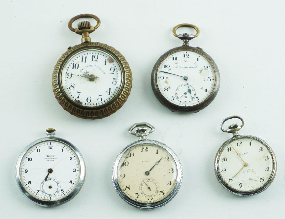 5 Relógios de Bolso