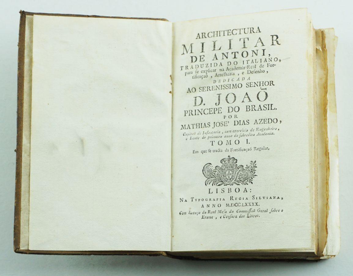 ARCHITECTURA MILITAR DE ANTONI – 1790