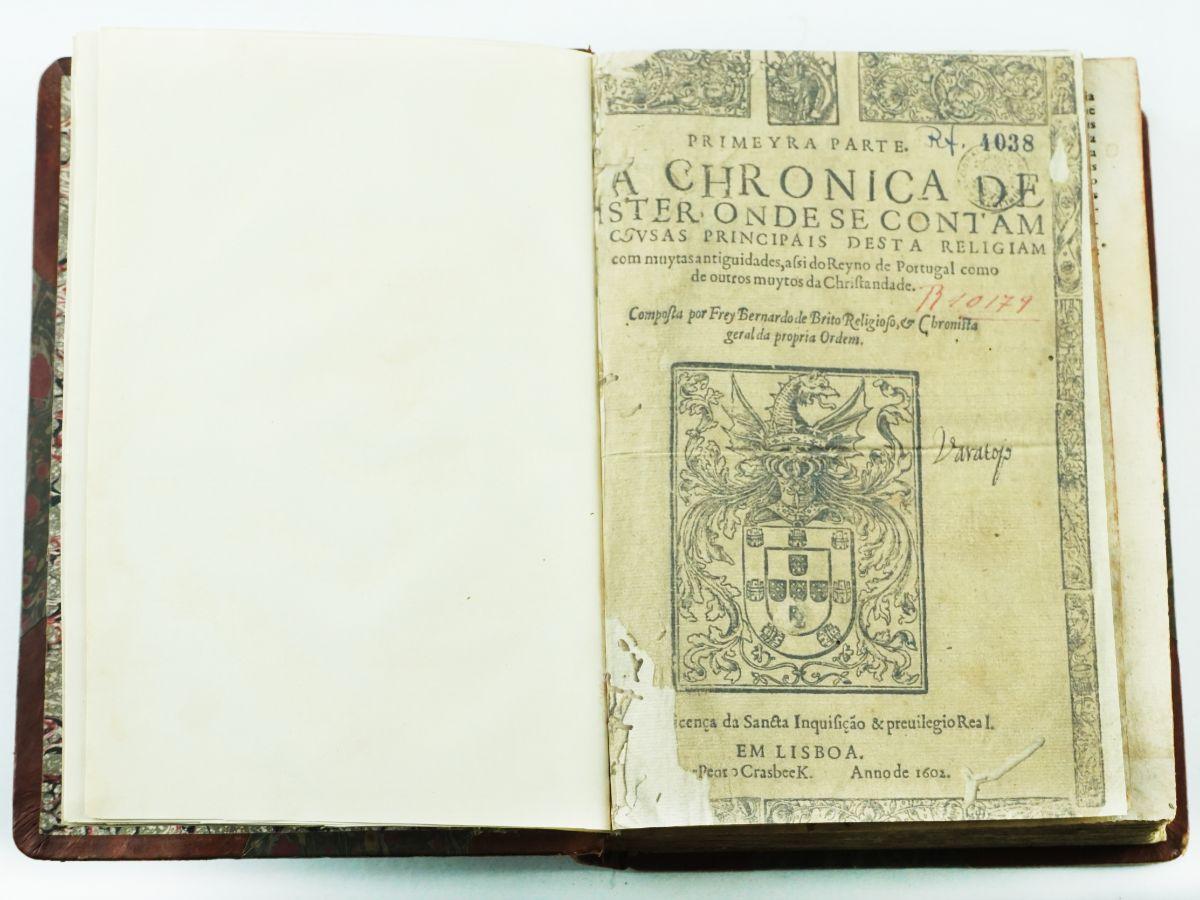 Frei Bernardo Brito PRIMEYRA PARTE DA CHRONICA DE CISTER
