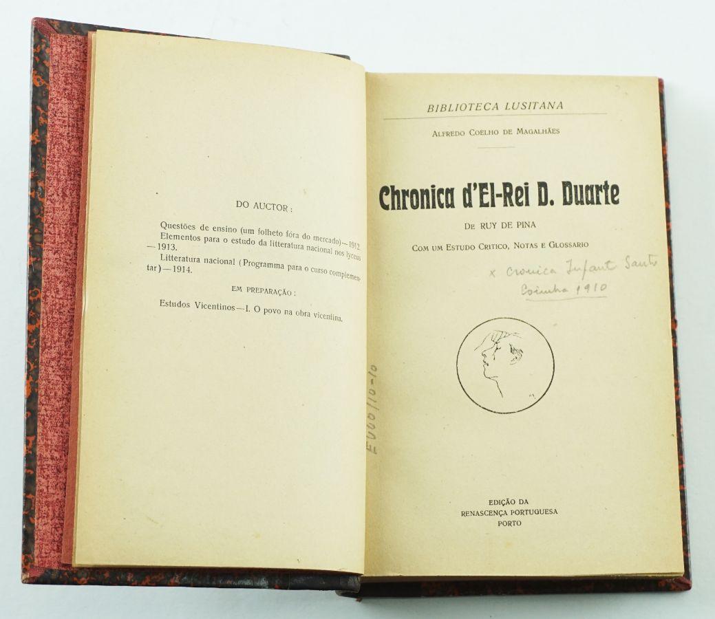 Chronica d'El – Rei D, Duarte