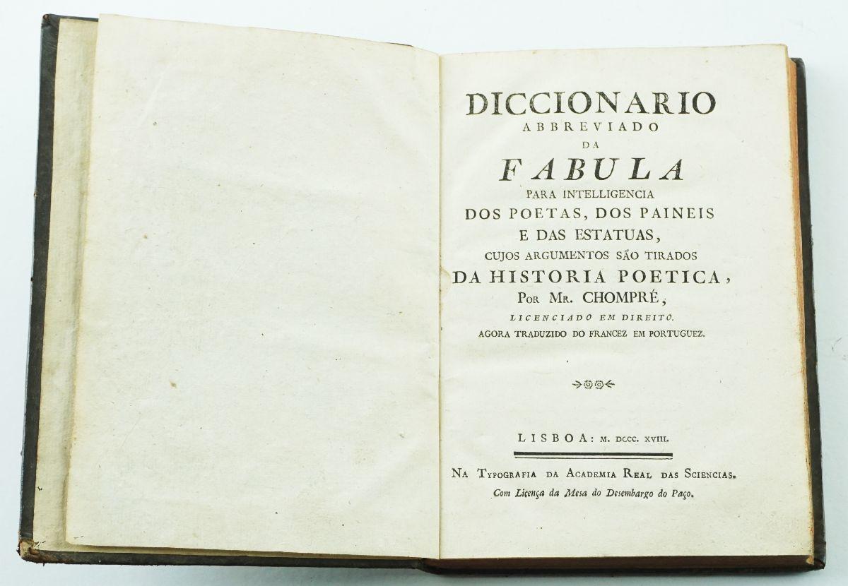 Diccionário Abbreviado da Fabula