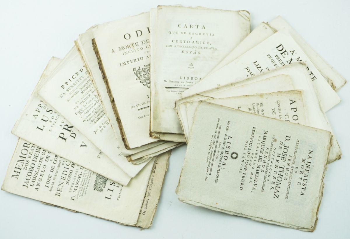 Publicações Séc. XVIII