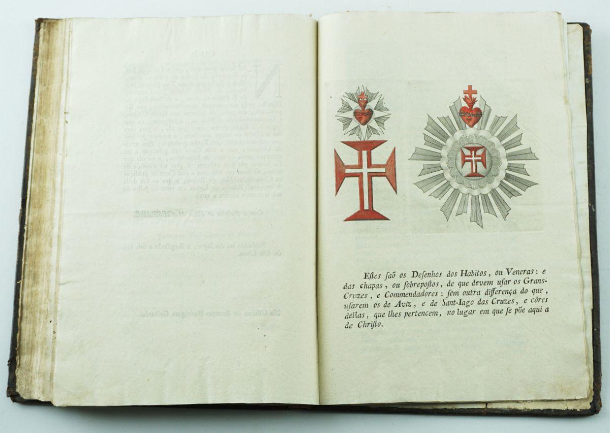 Cavalleyros E Freyres da Ordem de Nosso Senhor Jesu Christo - 1717