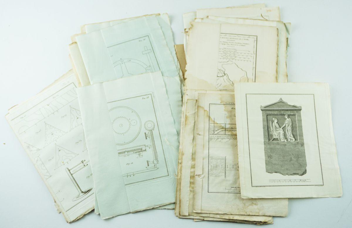 Gravuras e mapas sec XVIII e XIX