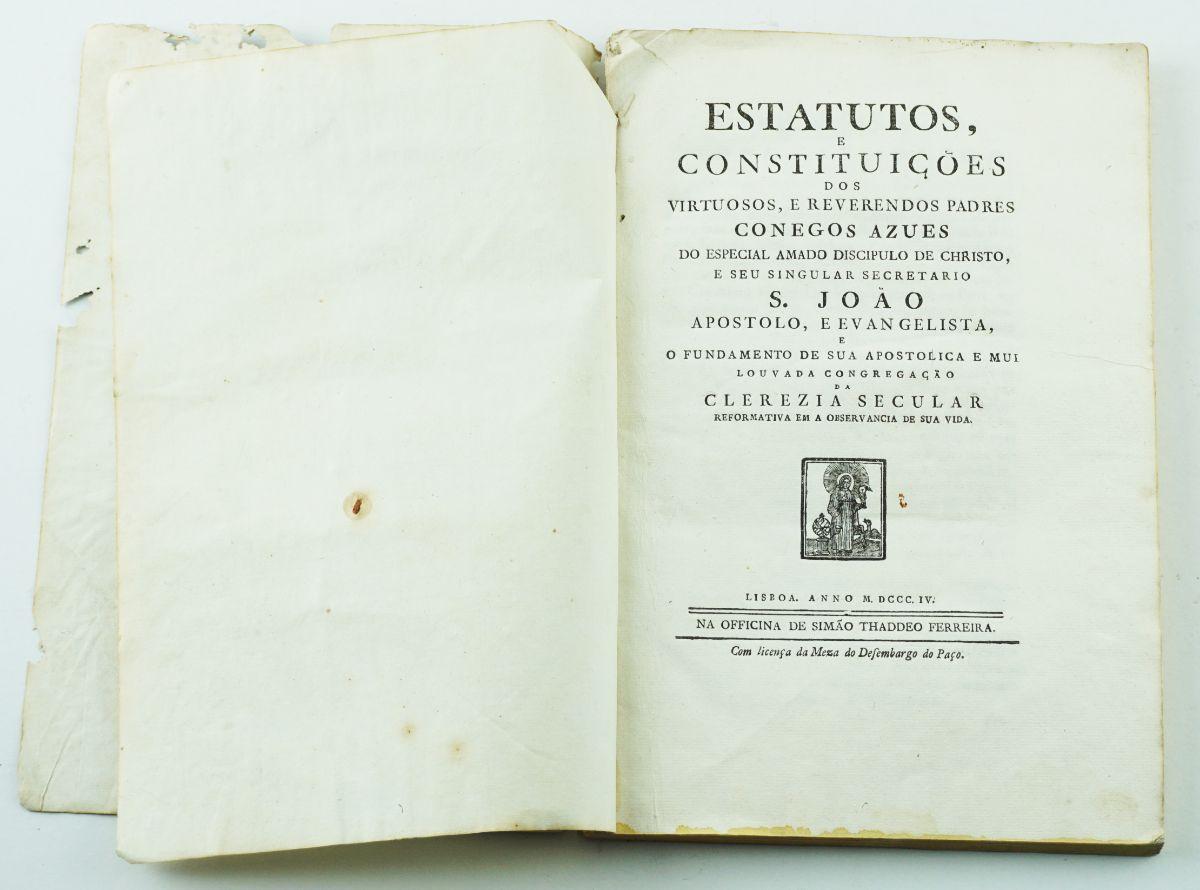 Estatutos e Constituições (....) Padres Conegos Azues