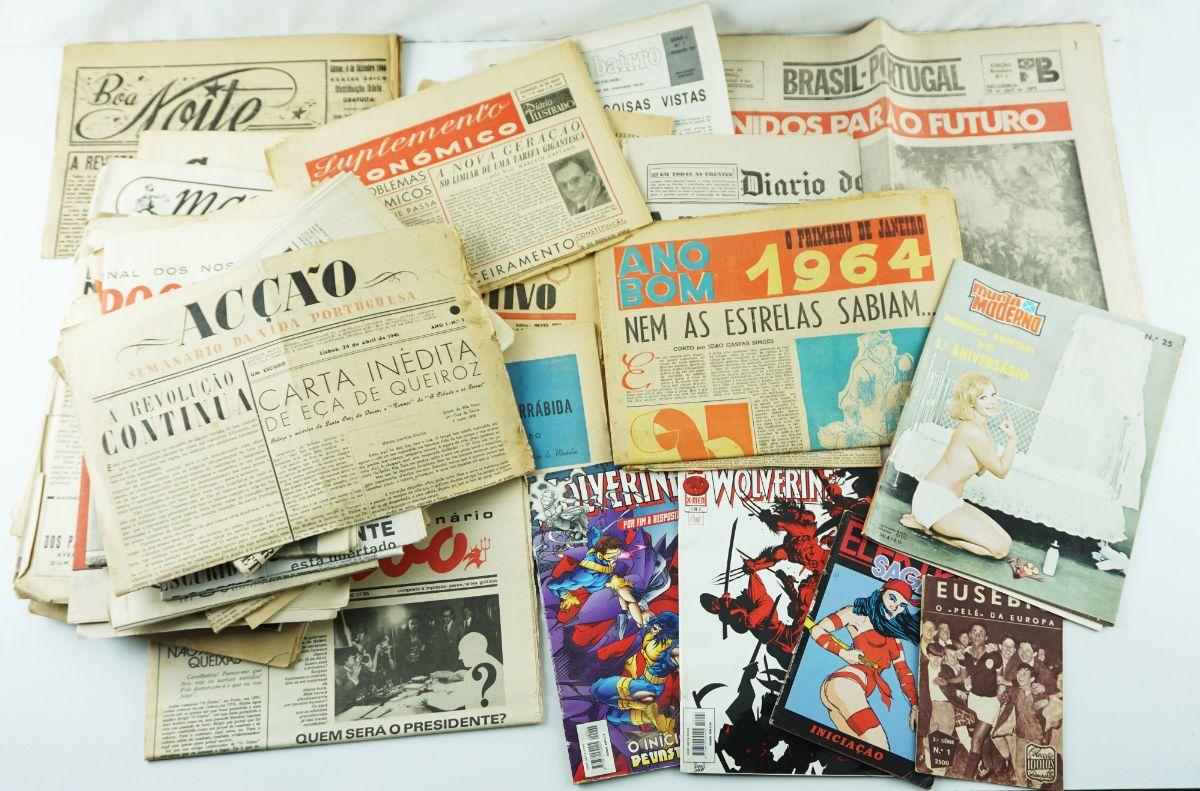 Mais de 40 Revistas e Jornais