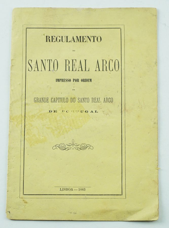 Regulamento do Santo Real Arco, 1883