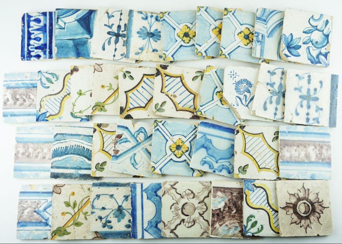 65 Azulejos Antigos