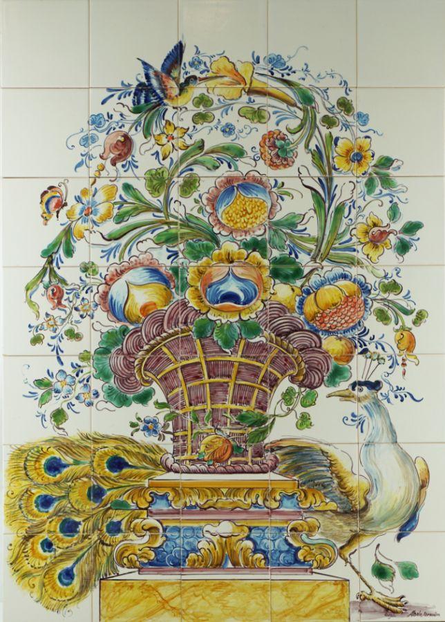 Painel de 35 Azulejos