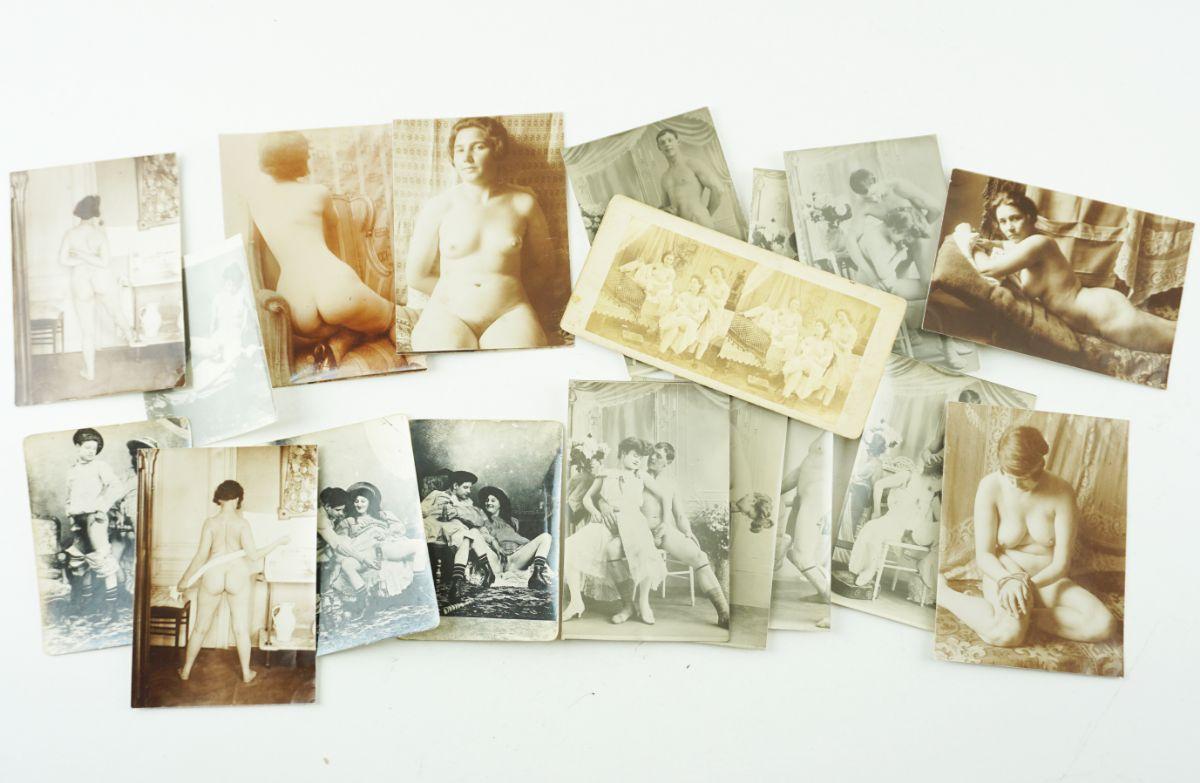 Fotografias eróticas (circa 1910)