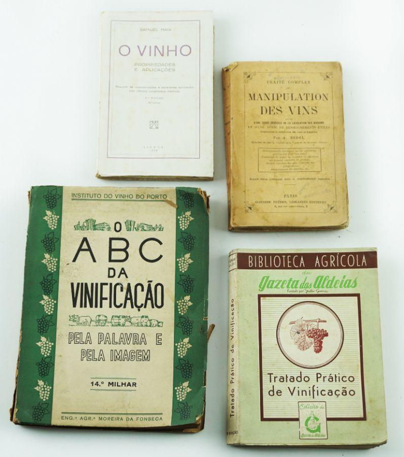 Livros sobre Vinificação