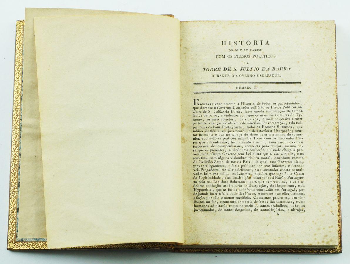 História dos Presos de S. Julião da Barra (1833)