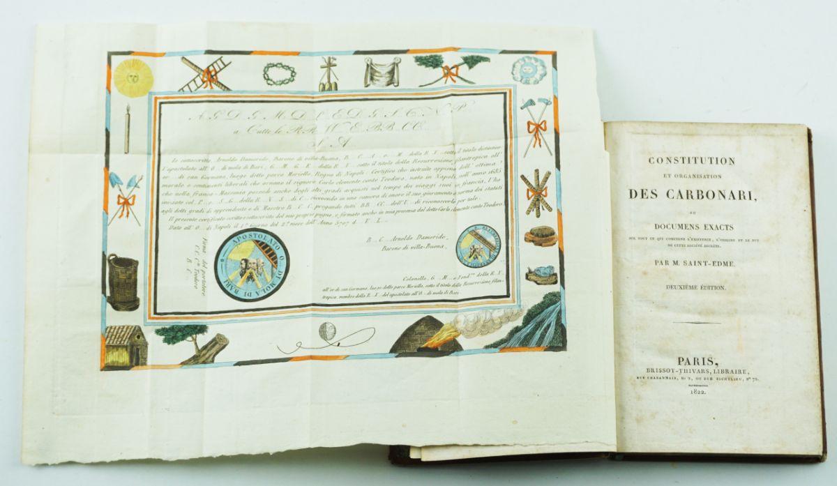 Obra clássica sobre a Carbonária (1822)