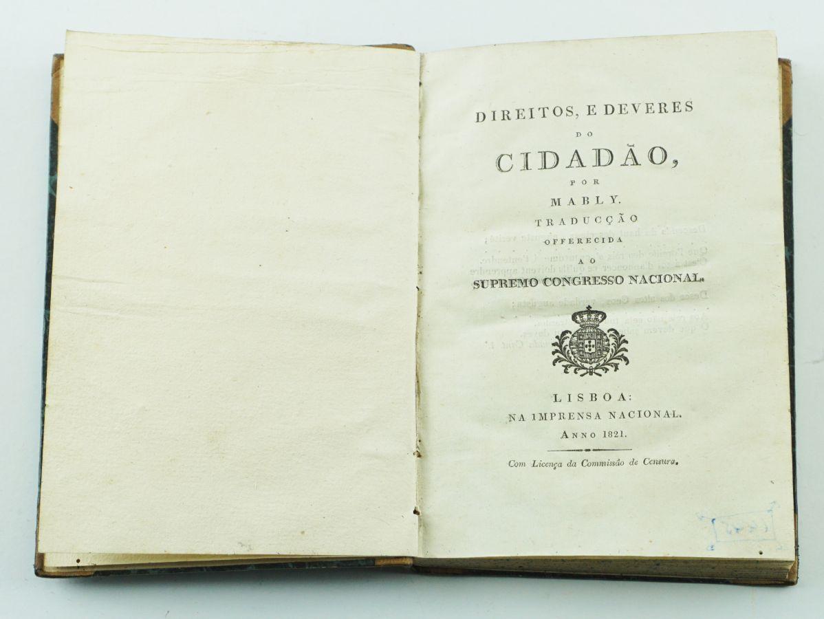 Edição portuguesa de Mably (1821)