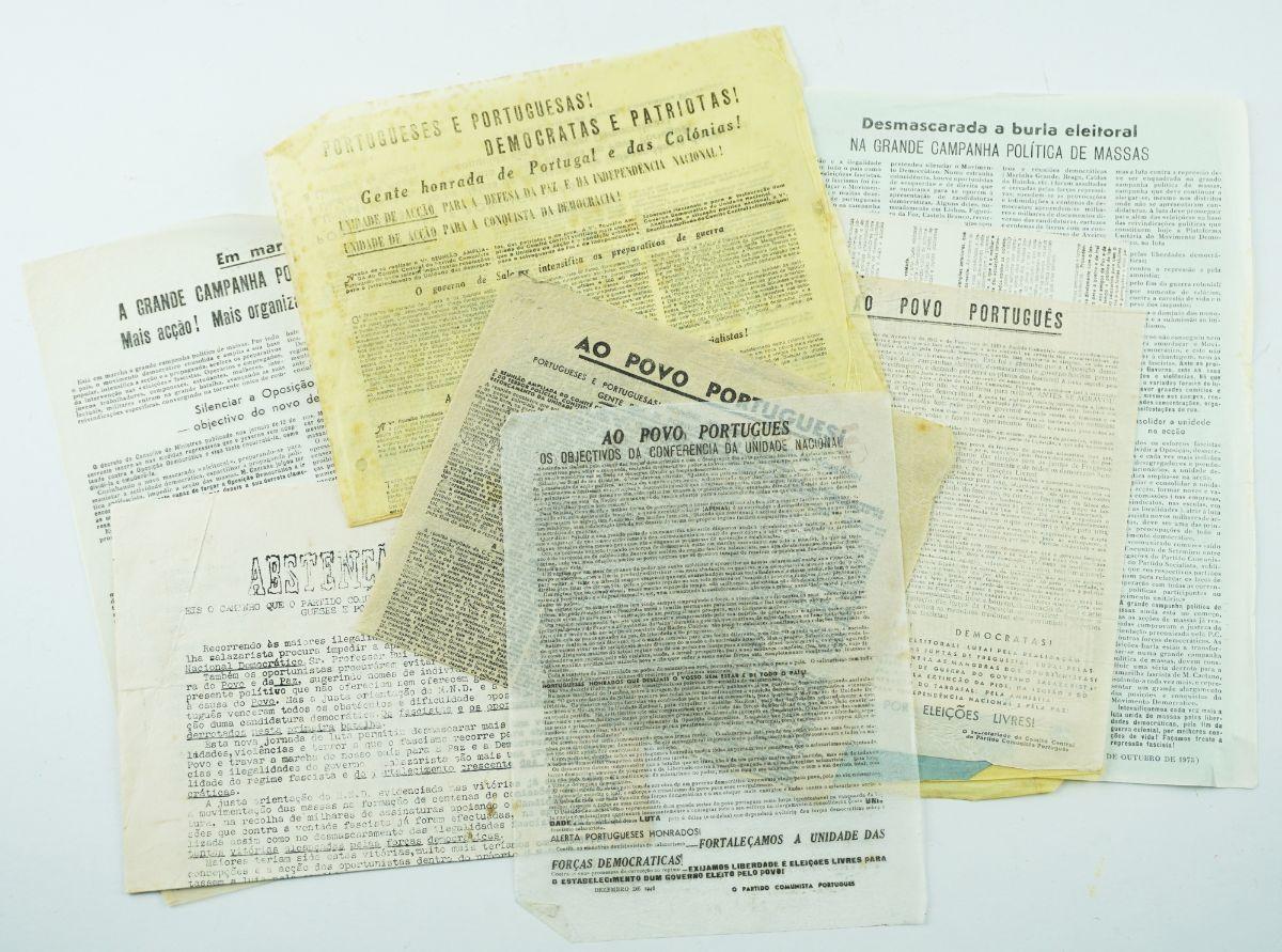 Manifestos clandestinos do Partido Comunista Português