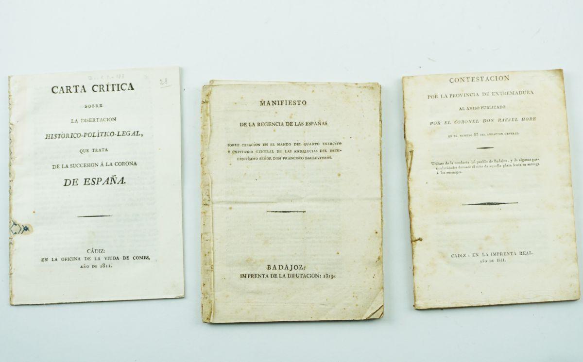 Guerra Peninsular – raras publicações espanholas