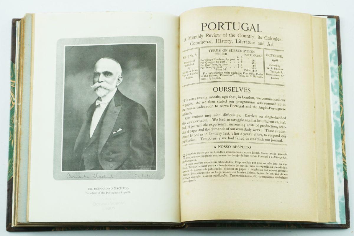 Grande Guerra – colecção completa da revista Portugal (1915-1916)