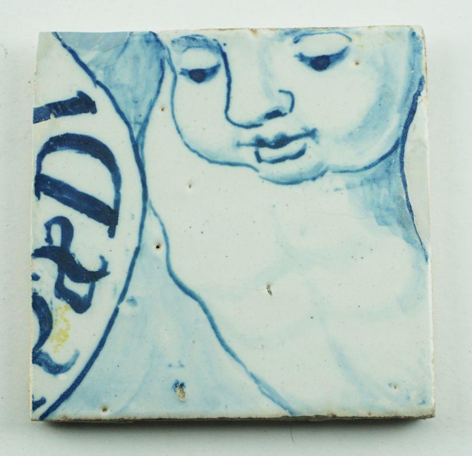 Azulejo com figura
