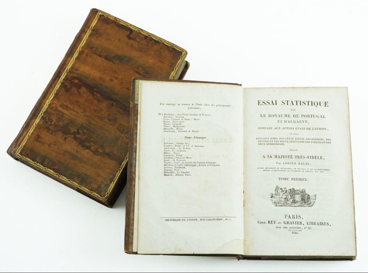 Essai Statistique sur le Royaume de Portugal (1822)