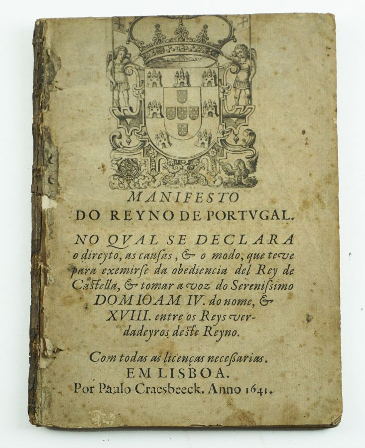 Manifesto do Reyno de Portugal (1641)