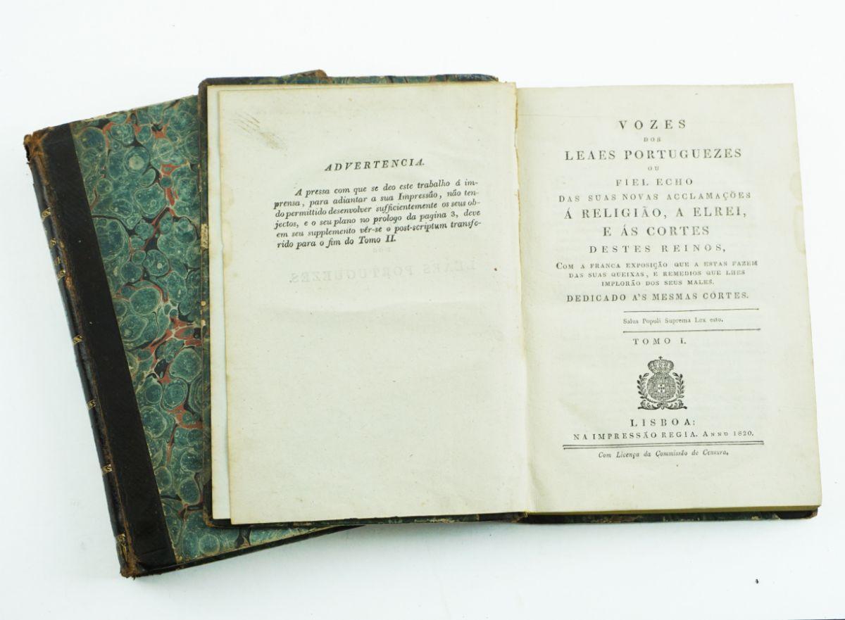 Vozes dos Leaes Portugueses (1820)