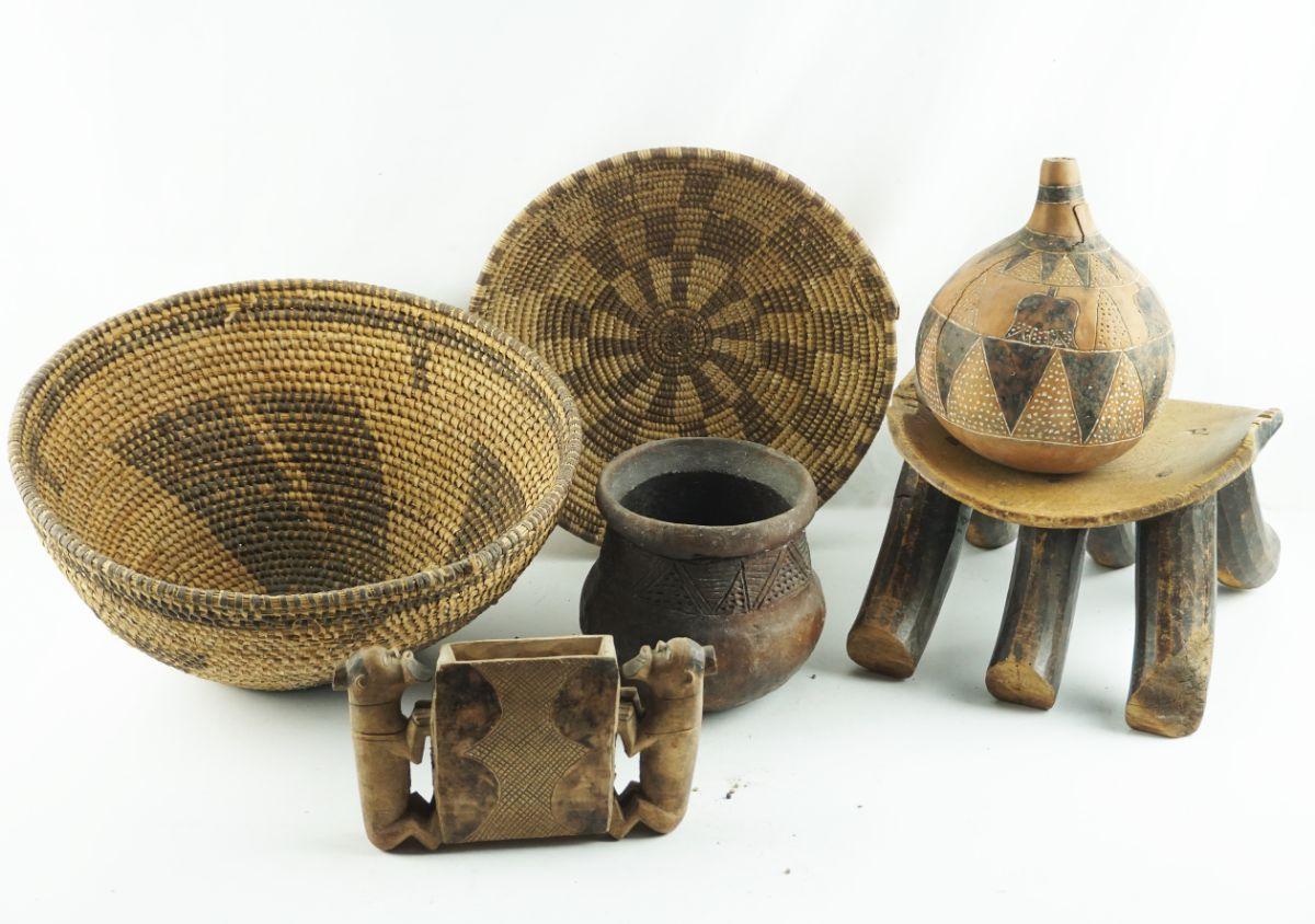 Espólio etnográfico e arqueológico de Fernando Batalha - Angola